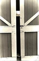 Art: Beyond the Barn Door by Artist Doris H. David