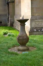 Art: Sundial in the Churchyard by Artist Justin Lowe