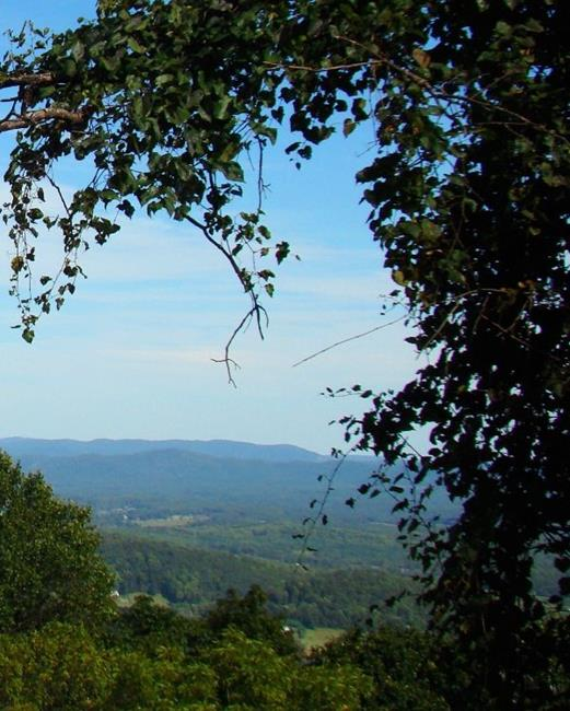 Art: Blue Ridge Overlook by Artist Leea Baltes