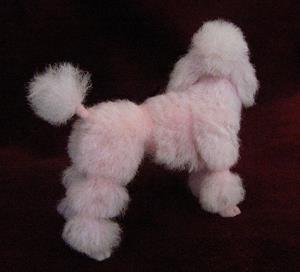 Detail Image for art pink poodle 006