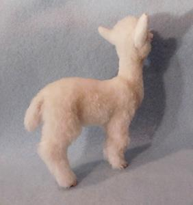 Detail Image for art Alpaca Furred Baby Alpaca