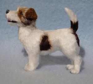 Detail Image for art Rough Coat Parsons Jack Russell Terrier