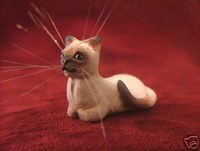 Art: Seal Point Siamese Cat by Artist Camille Meeker Turner