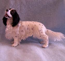 Art: Silk Furred English Setter by Artist Camille Meeker Turner