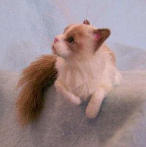 Detail Image for art Ragdoll Cat