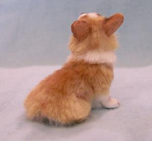 Detail Image for art Silk Furred Corgi Pup