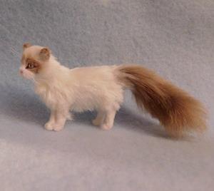 Detail Image for art Silk Furred Ragdoll Cat
