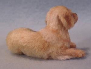 Detail Image for art Golden Retriever Puppy and Bunny