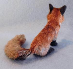 Detail Image for art Bamboo Furred Red Fox
