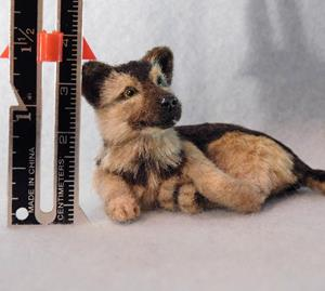 Detail Image for art German Shepherd Pup