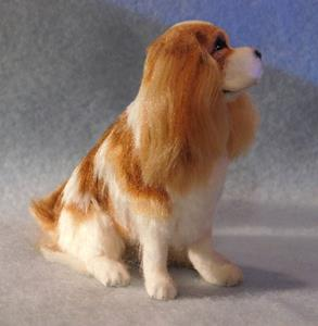 Detail Image for art Silk Furred Cavalier King Charles