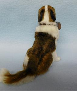 Detail Image for art Silk Furred Saint Bernard