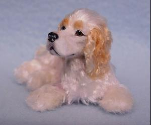 Detail Image for art Silk Furred Cocker Spaniel