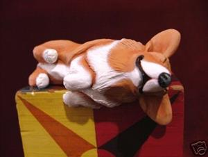 Detail Image for art Shelf Sitter Corgi, 1st in Series
