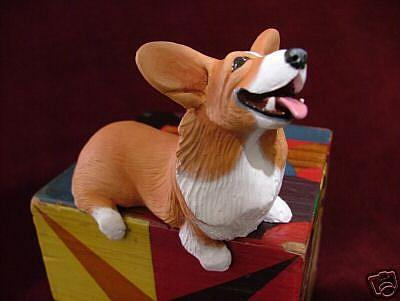 Art: Corgi Shelf Sitter, 2nd in Series by Artist Camille Meeker Turner