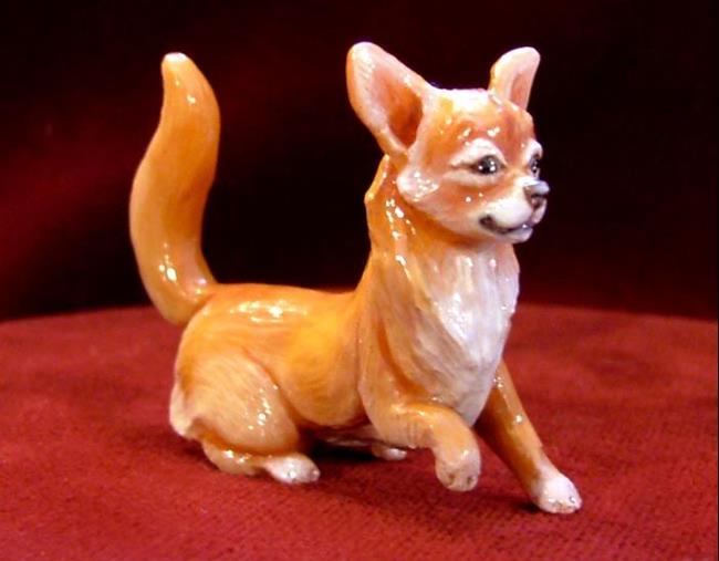 Art: Chihuahua Dog by Artist Camille Meeker Turner