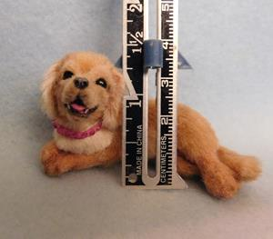 Detail Image for art Silk Furred Golden Retriever Pup