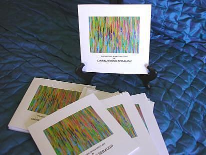 Art: ABSTRACT ART BOOK by Artist Dawn Hough Sebaugh