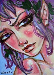 Art: Sara by Artist Natasha Wescoat