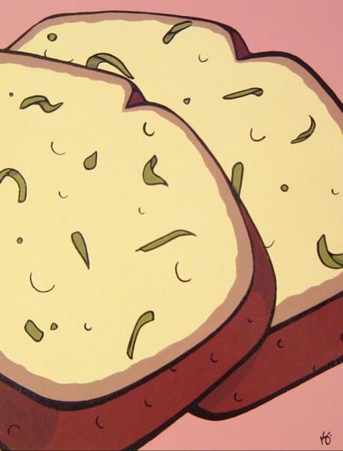 Art: Grandma Dorothy's Zucchini Bread by Artist Kris Jean