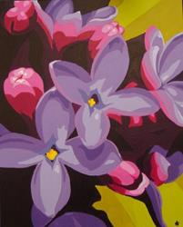 Art: Lilacs: Lush & Lovely by Artist Kris Jean