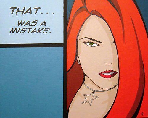 Art: That Was A Mistake... by Artist Kris Jean