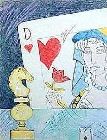 Detail Image for art Queen/Reine