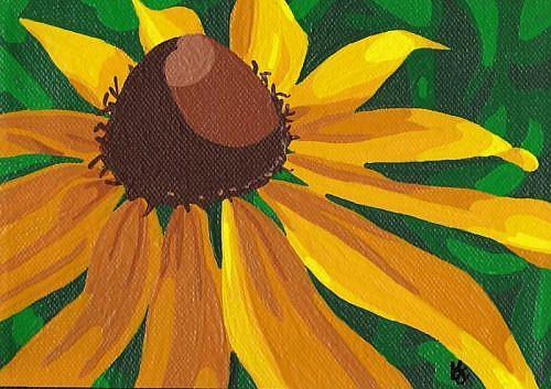 Art: Black Eyed Susan by Artist Kris Jean