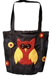 Art: Owly Trashion Tote by Artist April