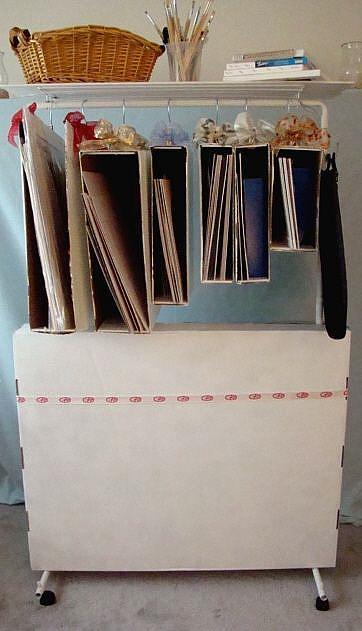 Art: Mobile Mat Board Center by Artist Leea Baltes