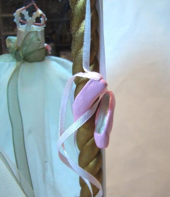 Art: Sculptured Ballet Slippers by Artist Leea Baltes