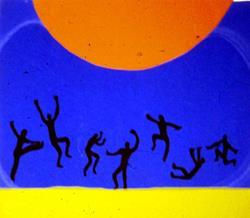 Art: Sun worship by Artist Amy J Hipple
