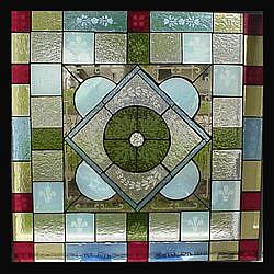 Art: Victorian Stained Glass by Artist Phil Petersen