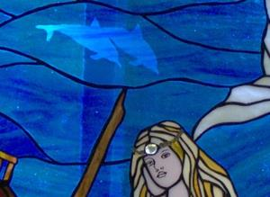 Detail Image for art Mermaid with Sunken Pirate Ship