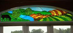 Art: Iowa Farm by Artist Phil Petersen