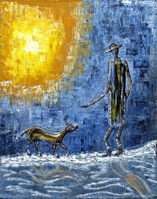 Art: Fetch by Artist Diane G. Casey