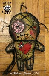 Art: voodoo doll new orleans by Artist Jordana
