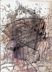 Art: Pen and Ink Doodle #213fifteen by Artist NoRaHzArT