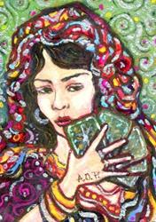 Art: ACEO Theme Week Contest: Foretold by Artist Patience
