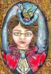 Art: ACEO Theme Week: Olde Maid? by Artist Patience