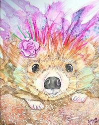 Art: Zoey the Hedgehog by Artist S.d. Wyatt