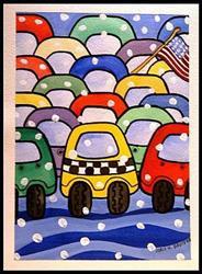 Art: Rush Hour by Artist Doris H. David