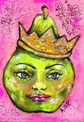 Art: ACEO Theme Week: The Green Queen by Artist Patience