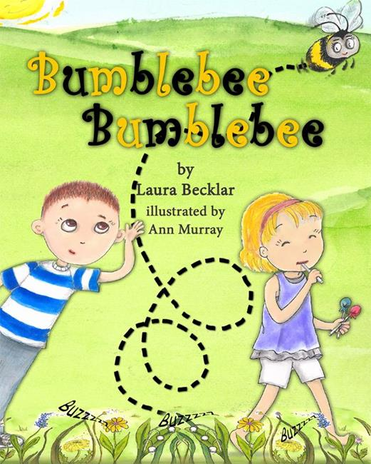Art: Childrens Book Bumble Bee Bumble Bee by Artist Ann Murray