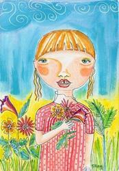 Art: Not An Ode To Summer by Artist Sherry Key
