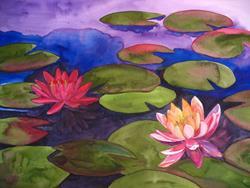 Art: Remembering Monet by Artist Aisyah Ang