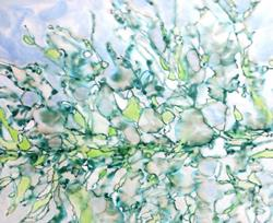 Art: Melting Pond by Artist Mary Anne Carley