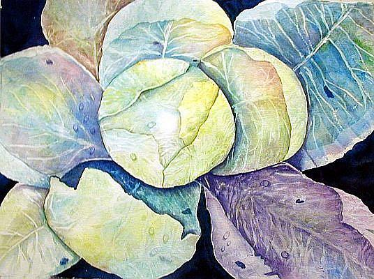 Art: Cabbage by Artist Ulrike 'Ricky' Martin