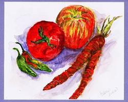 Art: Garden Fresh by Artist Patience