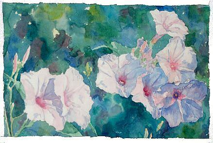 Art: Tahitian Morning by Artist Barbara Seith